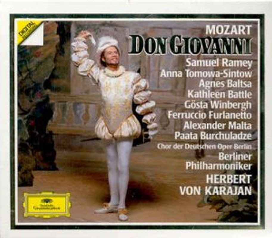Mozart - Don Giovanni (samuel Ramey/karajan - 3 Cd Set)