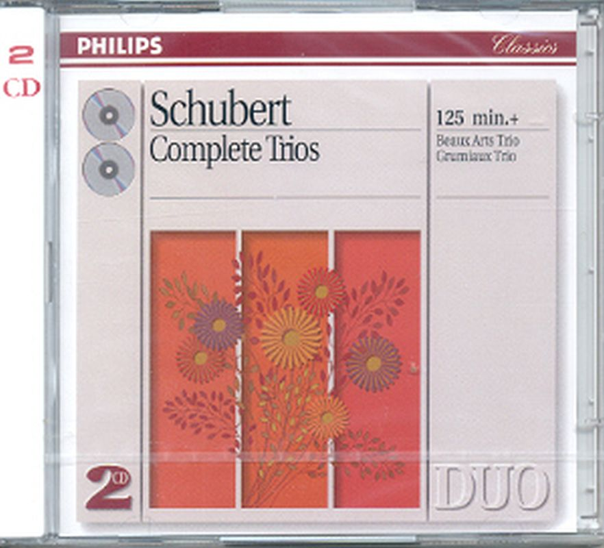 Schubert - Complete Trios (beaux/grumiaux Trios - 2 Cd Set)