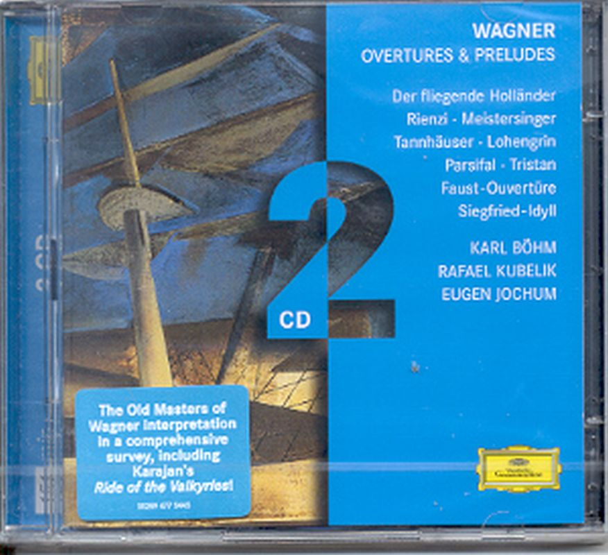Wagner - Overtures And Preludes - 2 Cd Set