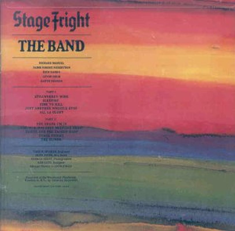Band - Stage Fright (remastered - Cd)