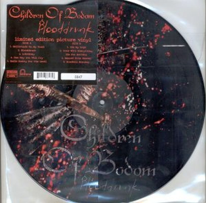 Children Of Bodom - Blooddrunk (pic - Vinyl Ltd Ed)