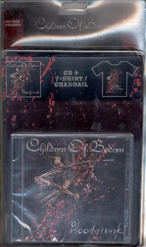 Children Of Bodom - Blooddrunk (ltd - Cd/t- Shirt Ltd Ed)