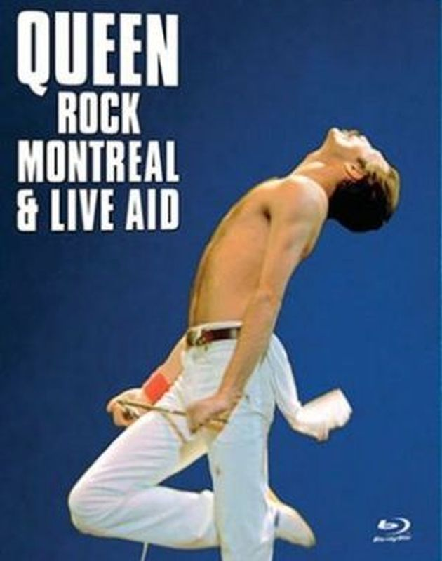 Queen - Rock Montreal &amp; Live Aid - Blu- Ray Disc