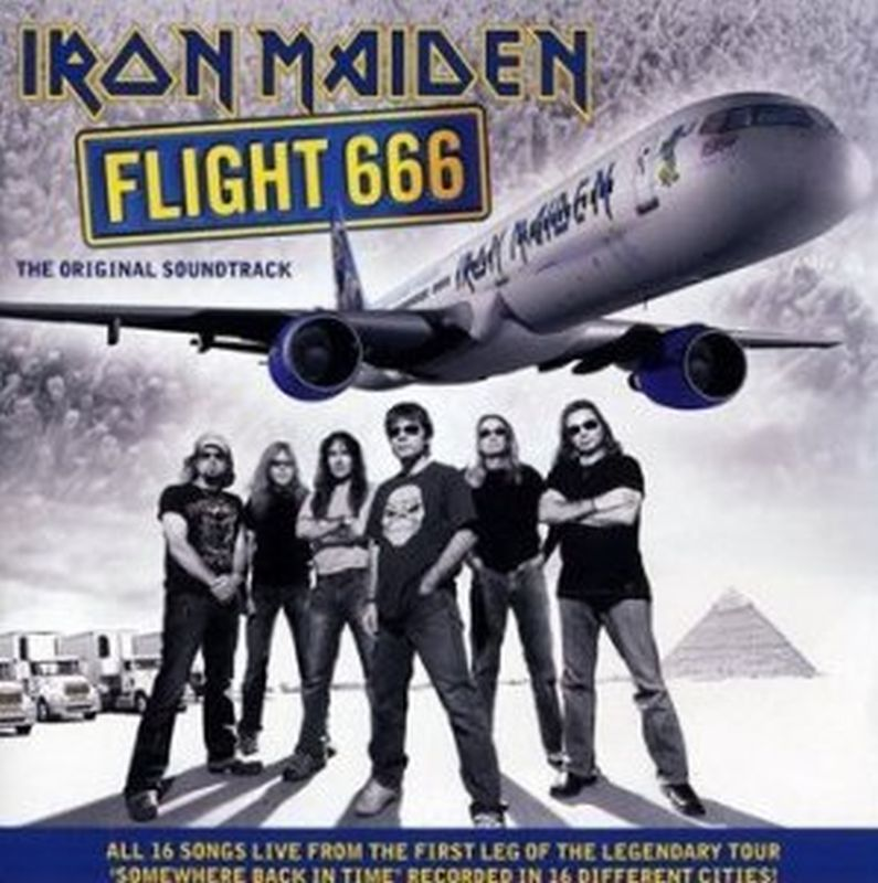 Iron Maiden - Flight 666 - 2 Cd Set