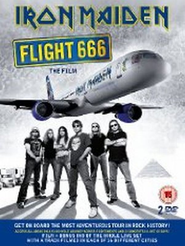 Iron Maiden - Flight 666 The Film - Dvd