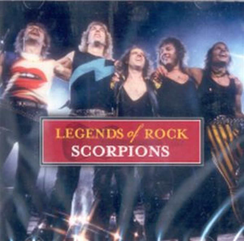 Scorpions - Legends Of Rock - Cd