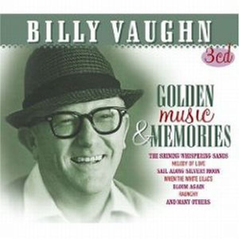 Billy Vaughn - Golden Music & Memories - 3 Cd Set
