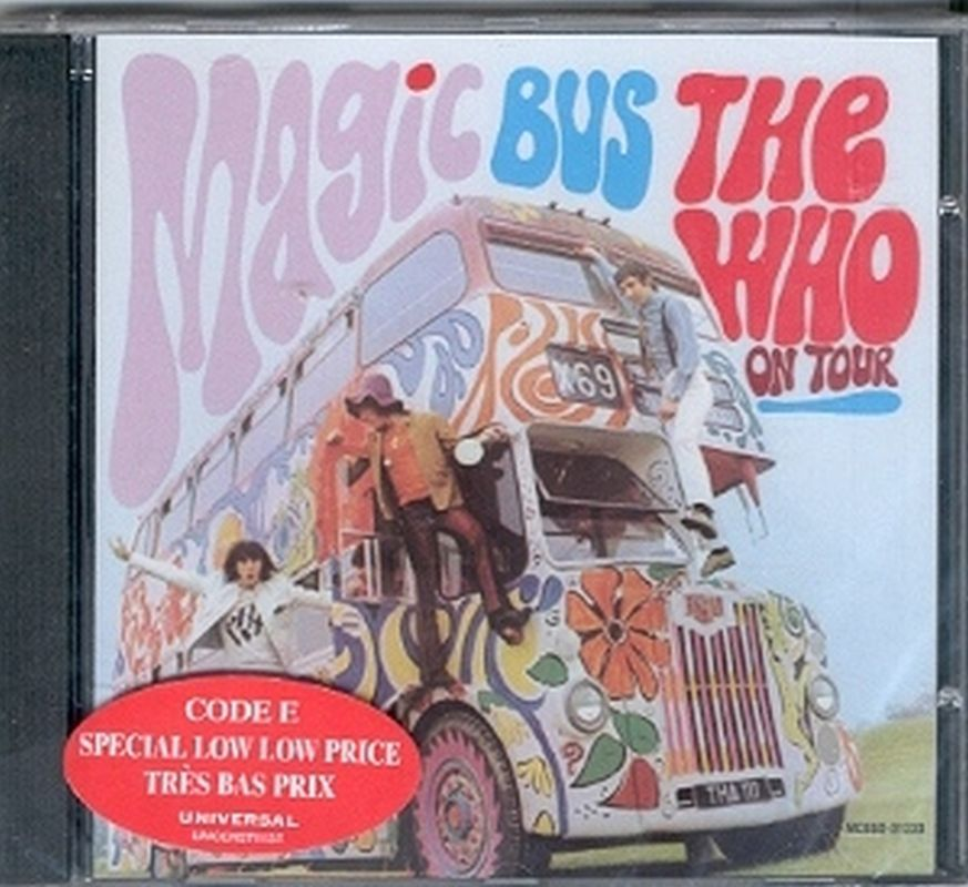 Who - Magic Bus: The Who On Tour - Cd