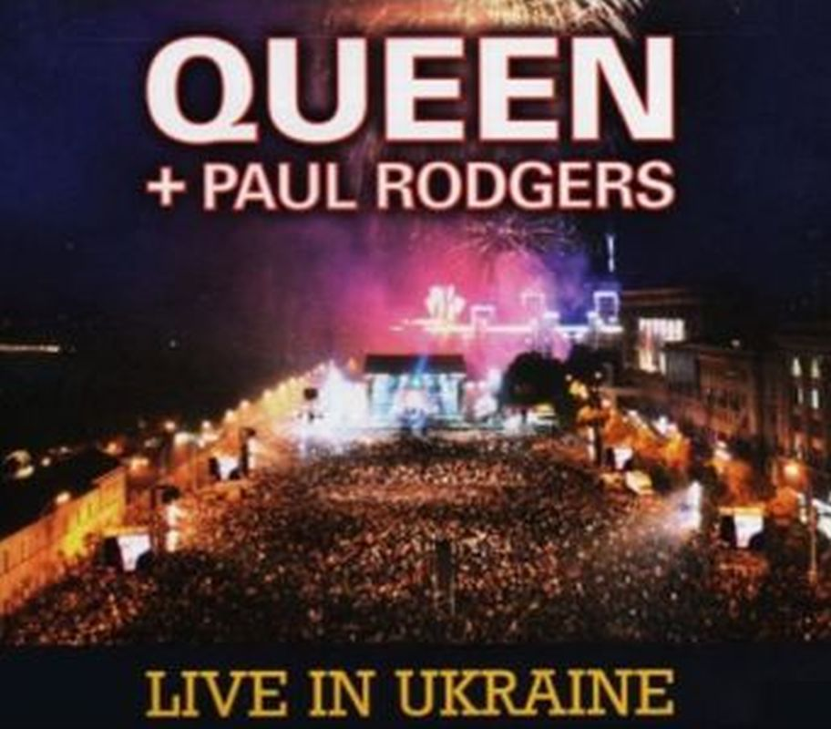 Queen+Paul Rodgers - Live In Ukraine - 2 Cd + Dvd Set