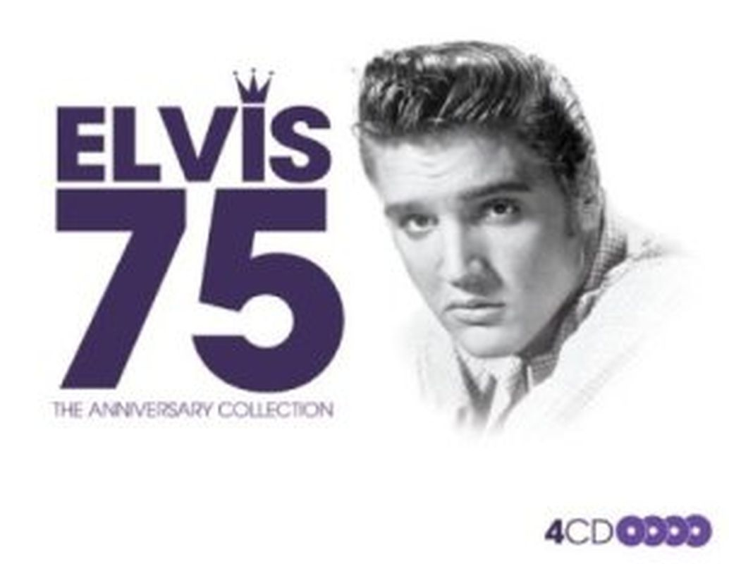 Elvis Presley - 75 The Anniversary Collection - 4cd