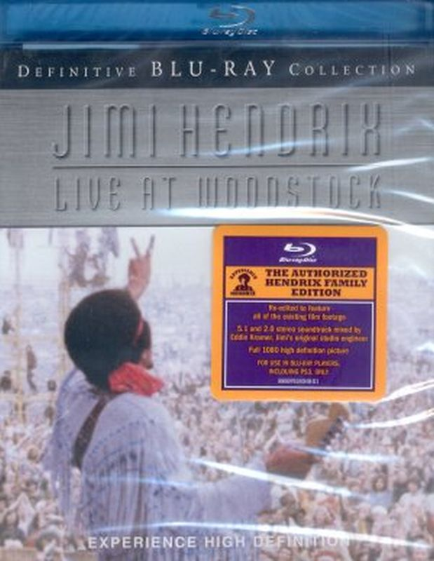 Jimi Hendrix - Live At Woodstock: Definitive Coll - Blu- Ray