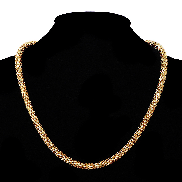 stunning 22 inch popcorn necklace chain w lobster claw ebay