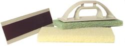 Barwalt Precision Scrub Pads W/ Handle (Tile and Stone Tools , More Tile and Stone Tools , Hand Sponge)