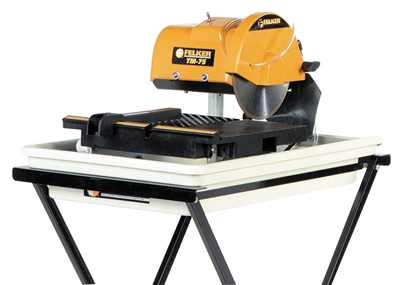 FELKER TM-75 Portable Tile Saw with Cutting Kit (Tile and Stone Tools , Tile Saws and Stone Saws , 13in to 19in Tile Saws)