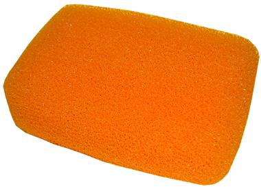 Hydra Orange Epoxy Sponge 6-1/2