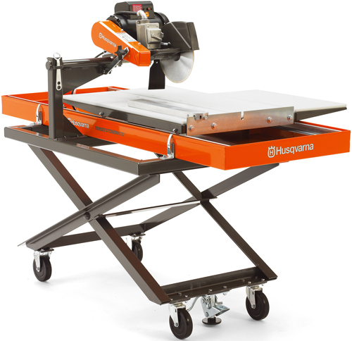 1.5hp Target By Husqvarna Stonematic Wet Saw (Tile and Stone Tools , Tile Saws and Stone Saws , 34in to 10 ft Stone Saws)