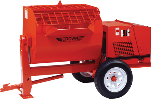 Crown 13hp Honda Gas 16S Hydraulic Mortar Mixers