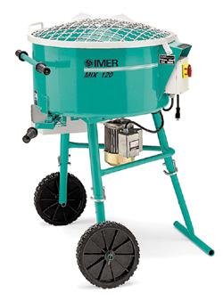 IMER Mortarman 120 Portable Mixer (Concrete Masonry Tools , Concrete Mortar Mixers , Portable Masonry Mixer)