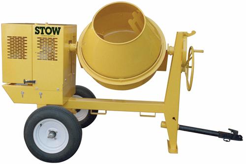 STOW CMS44E 4 cu ft 1/2hp Electric Concrete Mixer (Concrete Masonry Tools , Concrete Mortar Mixers , Towable Concrete Mixers)