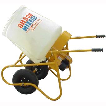 Cleform Gilson Wheelbarrow Cement Mixer (Concrete Masonry Tools , Concrete Mortar Mixers , Portable Concrete Mixers)