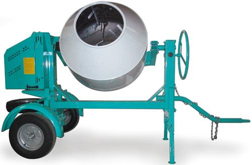 Imer Workman 350 II 12 cu ft Gas Concrete Mixer (Concrete Masonry Tools , Concrete Mortar Mixers , Towable Concrete Mixers)