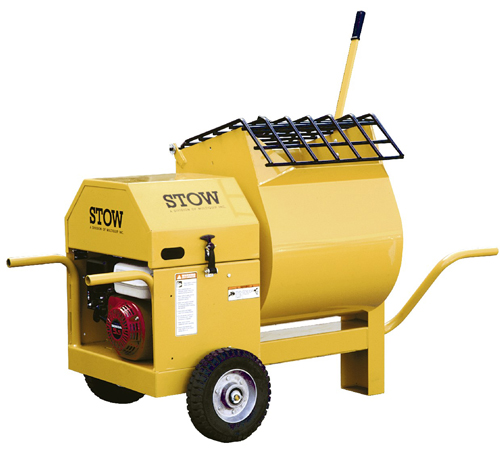 Stow MS45 5.5hp Honda Gas Portable Mortar Mixer
