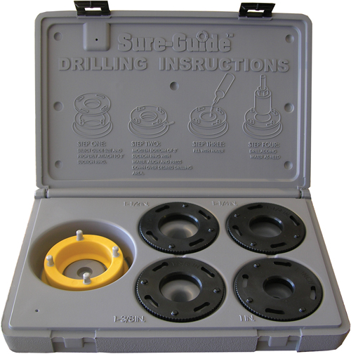 Sure-Guide Drilling Guide (Tile and Stone Tools , Drilling Tile and Stone , Guides and Accessories)