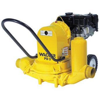 Wacker PDT 3A 3in Diaphragm Trash Pump (General Tools , Water Pumps)
