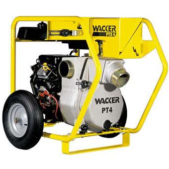 Wacker PTS 4V 4in Centrifugal Trash Pump (General Tools , Water Pumps)