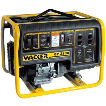 Wacker GV 3800A Portable Generator (General Tools , Generator)