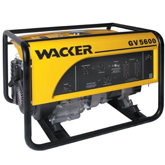 Wacker GV 5600A Portable Generator (General Tools , Generator)