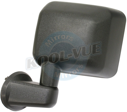 Brand New Side View Mirror Fits 2007-2008 Jeep Wrangler(With The Following Options) Driver Side (Left) Manual Factory Part #55077967AC