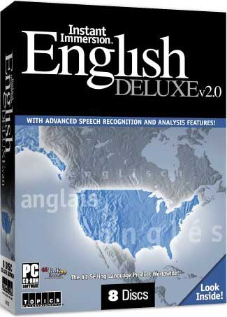 Instant Immersion English 2.0 Deluxe 8-Disc Set: 4 CD-ROM + 4 Audio CD PC