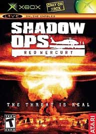 Shadow Ops: Red Mercury for XBOX - Military First Person Shooter