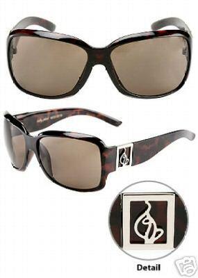 Baby Phat 2019 Tortoise Plastic Logo Sunglasses