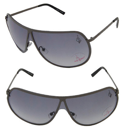 Baby Phat 1028 Dark Gunmetal Aviator Chic Urban Sunglasses Shades Authentic