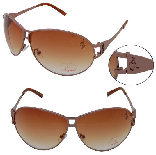 Baby Phat 1029 Brown Aviator Chic Urban Sunglasses Shades Authentic