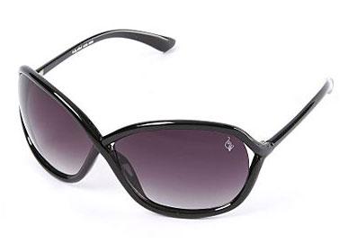 Baby Phat 2030 Black Oversized Plastic Sunglasses