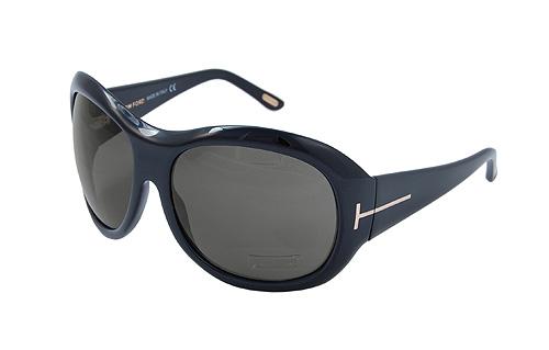 Tom Ford Stephanie Glossy Black Shades Sunglasses FT0062-OB5