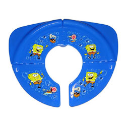SpongeBob Squarepants Travel Folding Portable Potty Toilet Seat