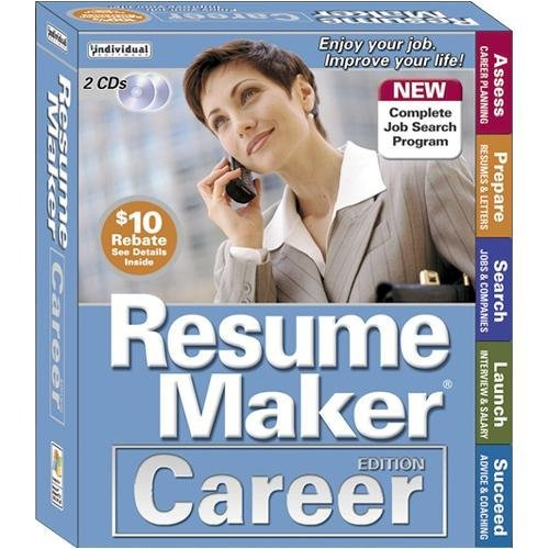 Resume Maker Career Edition 2-CD Set