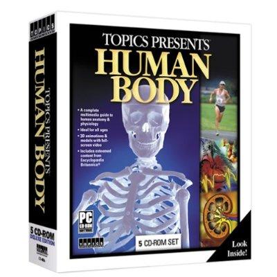 The Human Body by Topics, Interactive Game 5-CD WinXP PC