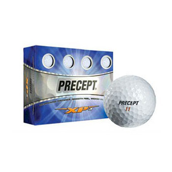 Precept Bridgestone XP3 White Golf Balls, 1 Dozen (12)