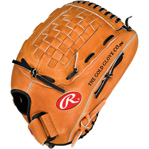 "Rawlings PP125 Player Preferred 12.5"" Baseball or Softball Glove Lefty, Left Handed Thrower"