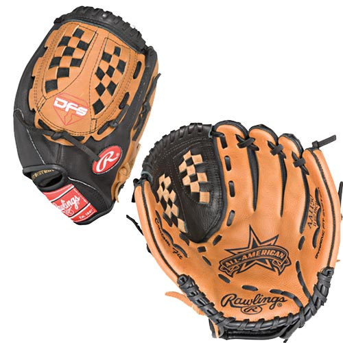 Rawlings AA1150 All American 11.5in Baseball Softball Glove Right Handed Throw