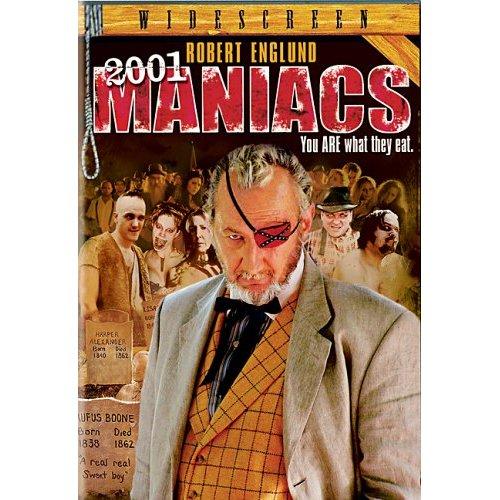 2001 Maniacs DVD Robert Englund, Tim Sullivan