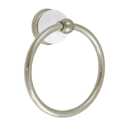 Delta Select 69446-PN Bathroom Towel Ring Accessory Polished Nickel
