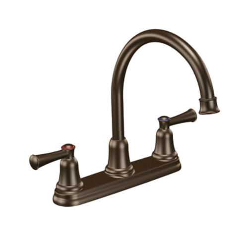 Moen 41611OWB Capstone Two Handle Kitchen Sink Faucet Old World Bronze