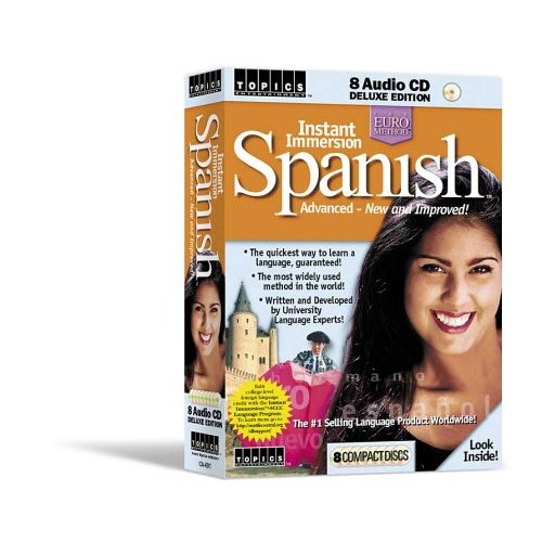 Learn Spanish Instant Immersion Spanish Advanced Course 8 Audio CD