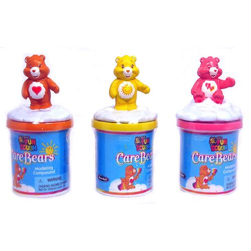 RoseArt Fun Dough Care Bears 3 piece Playset Modeling Compound